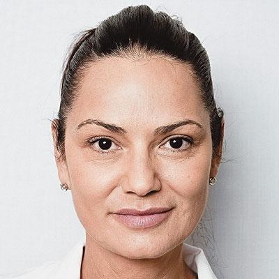 Luiza Brunet na foto da revista Época tirada por Felipe Hellmeister