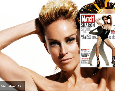 sharon-stone_Paris Match