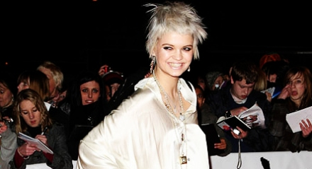 Pixie Geldof no British Award 2009/Catwalk Queen