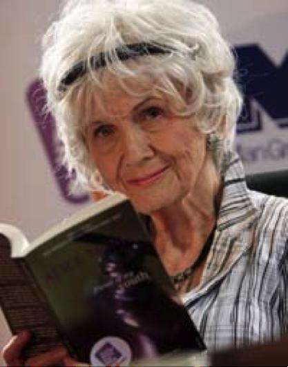 Alice Munro, 82, vencedora do Nobel de Literatura desse ano. Vai doer, mas tem de ler!