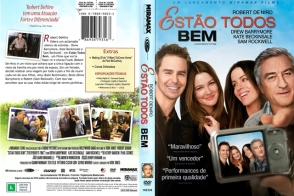 ESTÃO TODOS BEM (2010 – Itália e Estados Unidos), uma família complicada (como todas!). Frank Goode (Robert De Niro) aposentado e viúvo, resolve reunir os quatro filhos – David (Austin Lysy), Robert (Sam Rockwell), Rosie (Drew Barrymore) e Amy (Kate Beckinsale) -, em um churrasco em família. De última hora eles desmarcam o compromisso. Frank então vai ver o que está acontecendo e decide visitá-los em suas casas. É quando descobre que há algo de errado em suas vidas. Dirigido porKirk Jones.